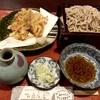 宿場そば 桑名屋 - 料理写真:かき揚げ天そば 1,000円税別
