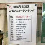 HERO'S  DINER -