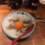 赤玉 本店 - 赤玉・ロールキャベツ・魚団子・つぶ貝