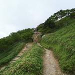 剣山頂上ヒュッテ - 登山道