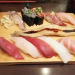 沼津魚がし鮨 - 新横浜握り