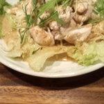 Kitchen & Bar Oaks - たっぷり蒸し鶏のランチセット 700円