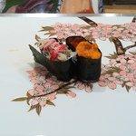 寿司栄 華やぎ - ズワイガニ、ウニ&イクラ