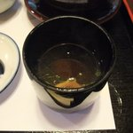 はり清 - 味噌汁('11.07)
