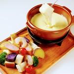 【平日ランチ】濃厚クリーミーチーズフォンデュランチ