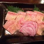 海鮮炭火焼食堂 肴や - 鯨ベーコン