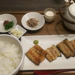干物まる - 鰻干物定食