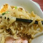 麺 みつヰ - 麺アップ「生姜ラーメン」