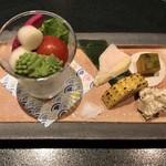 東京肉割烹 西麻布 すどう - 江戸野菜と前菜