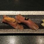 toukyounikukappounishiazabusudou - 肉寿司