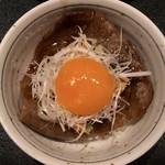 東京肉割烹 西麻布 すどう - 和牛霜降りサーロイン〜卓上岩板すき焼き〜