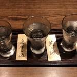 東京肉割烹 西麻布 すどう - 東京シリーズ飲み比べ