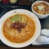 ちゅんり - 料理写真:担々麺700円+まーぼー丼150円