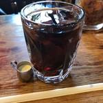 喫茶チロル - アイスコーヒー無糖380円