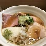 麺処 鶏谷 - 冷やし煮干し鷄そば