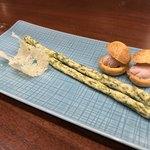 ビステッケリア エノテカ イル モーロ - ビステッケリア エノテカ イル モーロ(東京都中央区銀座)シェフのおまかせコース 季節の食材を使って 10,000円・アミューズ