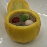 ビステッケリア エノテカ イル モーロ - ビステッケリア エノテカ イル モーロ(東京都中央区銀座)シェフのおまかせコース 季節の食材を使って 10,000円・一口の前菜