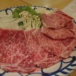 しゃぶ専 - 料理写真:山形牛しゃぶしゃぶコース