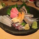 魚店きなり - 六点盛り(2000円)