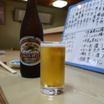 幸寿司 - キリンクラシックラガー中瓶