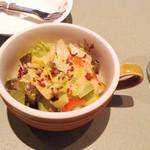 パステル - セットのサラダ