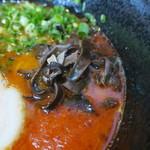 熊本ラーメン大悟 - キクラゲ