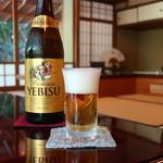 松籟庵 - ヱビスビール中瓶