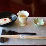 松籟庵 - 汲み上げ豆腐と梅酒