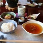 松籟庵 - 食事