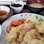 泰洋軒 - 料理写真:とり天定食。