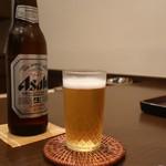 おが和 - アサヒスーパードライ小瓶