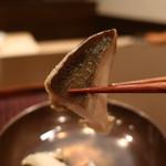 おが和 - 煮鮑リフトアップ
