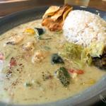カレープラント - 鯛と夏野菜のグリーンカレー