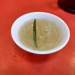 双龍 - セットのスープ~☆