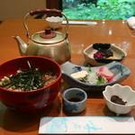 鳥居茶屋 - 鮎茶漬け(上)