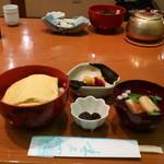 鳥居茶屋 - うなぎ玉子丼