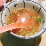 89659749 - セットのスープ