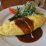 くまごろうカフェ - 料理写真:デミチーズオムレツ