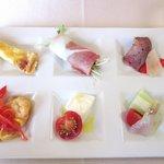 イルクオーレ - 前菜6種類