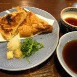 居酒屋蘇州 - 由利本荘名産の三角油揚げ