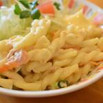 89660277 - サラダ(ジャンボエビフライ定食)