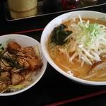 ラーメン一代 - 料理写真:味噌セット 900円(税別)