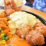 89661031 - ジャンボエビフライ(ジャンボエビフライ定食)