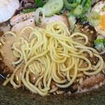 とんこつ麺屋 火の国 - 麺