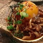 バード・スペース - 地鶏ユッケ¥630(外税)