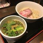 麺屋玉ぐすく - 鴨油の醤油つけ麺