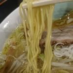 89662967 - 西山製麺の中細ストレート麺