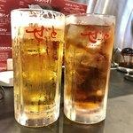 焼肉ぜっと KITAMACHI - 生大とウーロン茶大