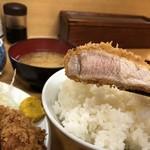 とんかつ いちかつ - 大ロースカツ定食1000円