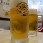 東亜飯店 - 生ビール
